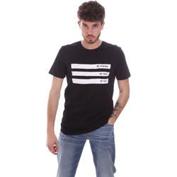 Υφασμάτινα Άνδρας T-shirt με κοντά μανίκια Antony Morato MMKS02035 FA100144 Μπλε