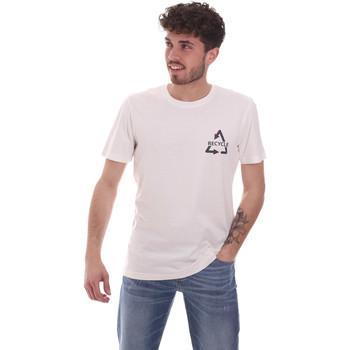 Υφασμάτινα Άνδρας T-shirt με κοντά μανίκια Antony Morato MMKS02005 FA100144 λευκό