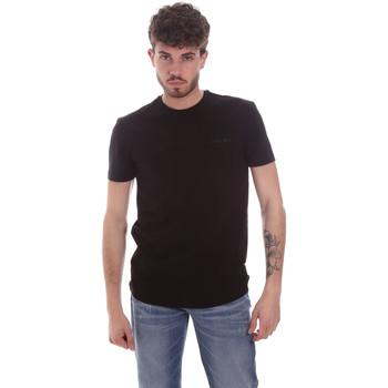 Υφασμάτινα Άνδρας T-shirt με κοντά μανίκια Antony Morato MMKS01855 FA120022 Μαύρος