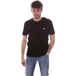 Υφασμάτινα Άνδρας T-shirt με κοντά μανίκια Antony Morato MMKS01924 FA100144 Μαύρος