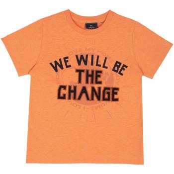 Υφασμάτινα Παιδί T-shirt με κοντά μανίκια Chicco 09067318000000 Πορτοκάλι