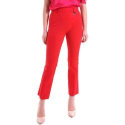 Υφασμάτινα Γυναίκα Παντελόνια Chino/Carrot Cristinaeffe 0412 2484 το κόκκινο