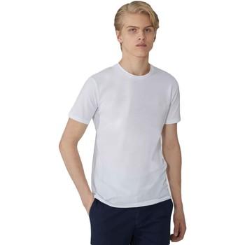 Υφασμάτινα Άνδρας T-shirt με κοντά μανίκια Trussardi 52T00499-1T003614 λευκό