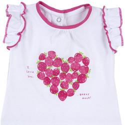 Υφασμάτινα Κορίτσι T-shirt με κοντά μανίκια Chicco 09067088000000 λευκό