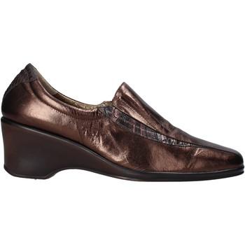 Παπούτσια Γυναίκα Μοκασσίνια Confort 6309 καφέ