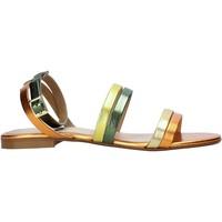Παπούτσια Γυναίκα Σανδάλια / Πέδιλα Café Noir XV9211 Πορτοκάλι
