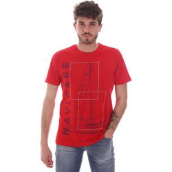 Υφασμάτινα Άνδρας T-shirt με κοντά μανίκια Navigare NV31109 το κόκκινο
