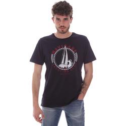 Υφασμάτινα Άνδρας T-shirt με κοντά μανίκια Navigare NV31113 Μπλε