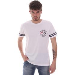 Υφασμάτινα Άνδρας T-shirt με κοντά μανίκια Navigare NV31123 λευκό