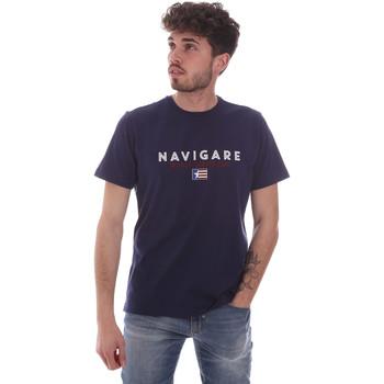 Υφασμάτινα Άνδρας T-shirt με κοντά μανίκια Navigare NV31139 Μπλε