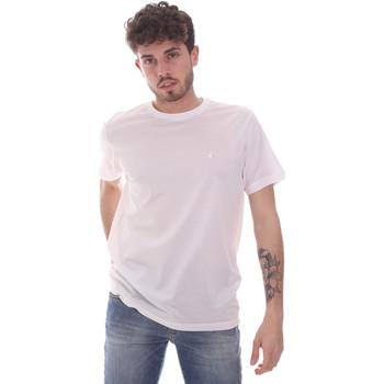 Υφασμάτινα Άνδρας T-shirt με κοντά μανίκια Navigare NV71003 λευκό