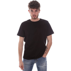 Υφασμάτινα Άνδρας T-shirt με κοντά μανίκια Navigare NV71003 Μαύρος