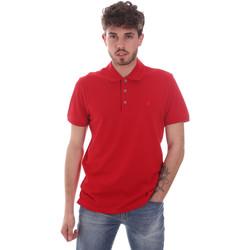 Υφασμάτινα Άνδρας Πόλο με κοντά μανίκια  Navigare NV82108 το κόκκινο
