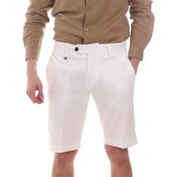 Υφασμάτινα Άνδρας Σόρτς / Βερμούδες Antony Morato MMSH00141 FA800142 λευκό