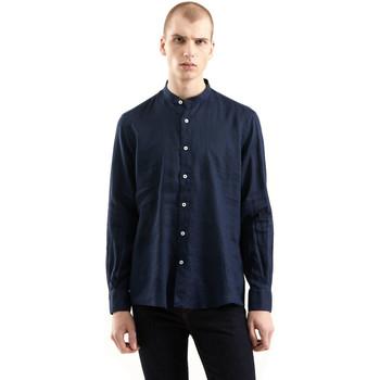 Υφασμάτινα Άνδρας Πουκάμισα με μακριά μανίκια Refrigiwear RM0C10100LI9110 Μπλε