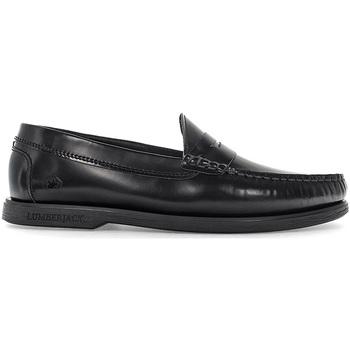 Παπούτσια Άνδρας Μοκασσίνια Lumberjack SM07802 005EU B36 Μαύρος
