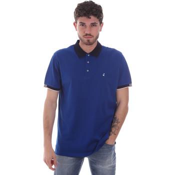 Υφασμάτινα Άνδρας Πόλο με κοντά μανίκια  Navigare NV72058 Μπλε