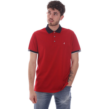 Υφασμάτινα Άνδρας Πόλο με κοντά μανίκια  Navigare NV72058 το κόκκινο