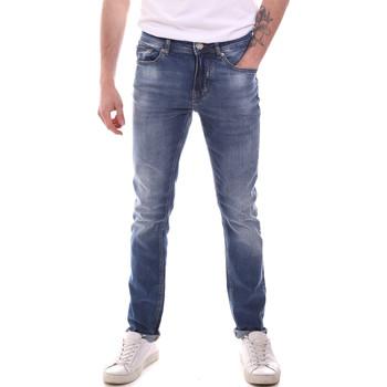 Υφασμάτινα Άνδρας Skinny Τζιν  Gaudi 111GU26007L32 Μπλε