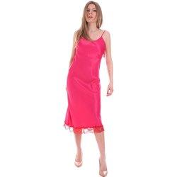 Υφασμάτινα Γυναίκα Κοντά Φορέματα Cristinaeffe 0731 2475 Ροζ
