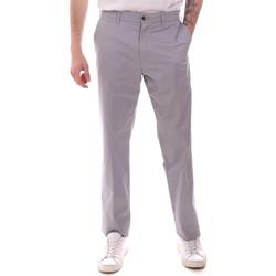 Υφασμάτινα Άνδρας Παντελόνια Chino/Carrot Navigare NV55223 Γκρί