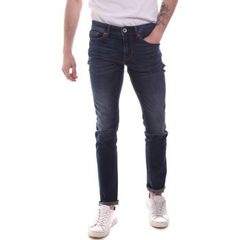 Υφασμάτινα Άνδρας Skinny Τζιν  Gaudi 111GU26005L32 Μπλε