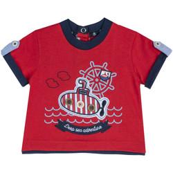 Υφασμάτινα Παιδί T-shirt με κοντά μανίκια Chicco 09067162000000 το κόκκινο