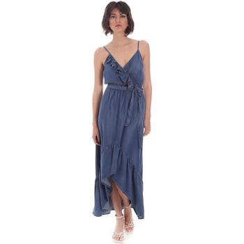 Υφασμάτινα Γυναίκα Μακριά Φορέματα Gaudi 111BD16003 Μπλε