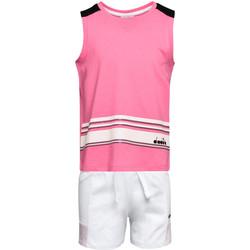 Υφασμάτινα Παιδί Σετ Diadora 102175915 Ροζ
