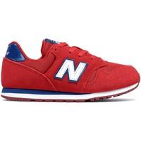 Παπούτσια Παιδί Χαμηλά Sneakers New Balance NBYC373SRW το κόκκινο