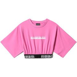 Υφασμάτινα Γυναίκα Μπλούζες Napapijri NP0A4FHH Ροζ