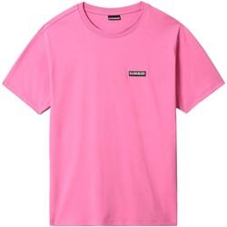 Υφασμάτινα Άνδρας T-shirt με κοντά μανίκια Napapijri NP0A4FG8 Ροζ