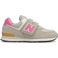 Παπούτσια Παιδί Χαμηλά Sneakers New Balance NBPV574ME2 Γκρί