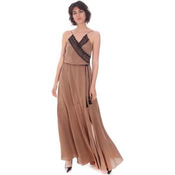 Υφασμάτινα Γυναίκα Μακριά Φορέματα Cristinaeffe 0704 2498 Μπεζ
