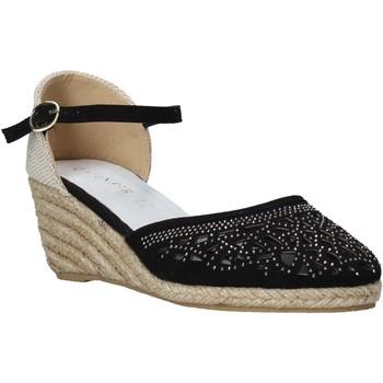 Παπούτσια Γυναίκα Εσπαντρίγια Café Noir HR9440 Μαύρος