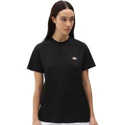 Υφασμάτινα Γυναίκα T-shirt με κοντά μανίκια Dickies DK0A4XDABLK1 Μαύρος