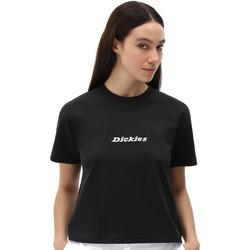 Υφασμάτινα Γυναίκα T-shirt με κοντά μανίκια Dickies DK0A4XBABLK1 Μαύρος