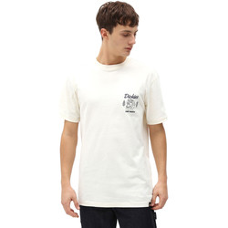 Υφασμάτινα Άνδρας T-shirt με κοντά μανίκια Dickies DK0A4X9NECR1 λευκό