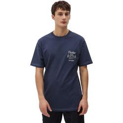 Υφασμάτινα Άνδρας T-shirt με κοντά μανίκια Dickies DK0A4X9NNV01 Μπλε