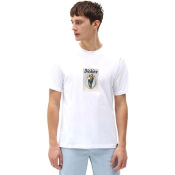 Υφασμάτινα Άνδρας T-shirt με κοντά μανίκια Dickies DK0A4X9IWHX1 λευκό