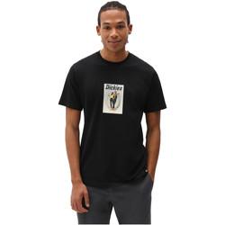 Υφασμάτινα Άνδρας T-shirt με κοντά μανίκια Dickies DK0A4X9IBLK1 Μαύρος