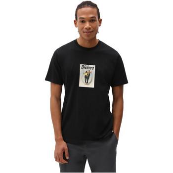 T-shirt με κοντά μανίκια Dickies DK0A4X9IBLK1