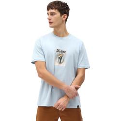 Υφασμάτινα Άνδρας T-shirt με κοντά μανίκια Dickies DK0A4X9IB551 Μπλε