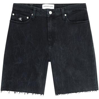 Υφασμάτινα Γυναίκα Σόρτς / Βερμούδες Calvin Klein Jeans J20J216082 Μαύρος