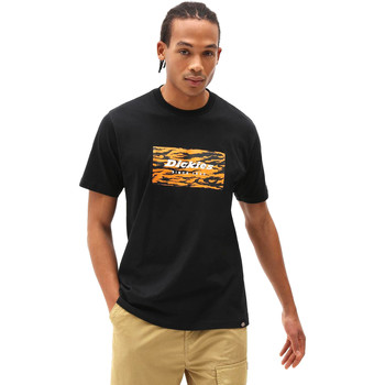 Υφασμάτινα Άνδρας T-shirt με κοντά μανίκια Dickies DK0A4X9JBLK1 Μαύρος