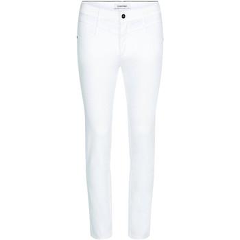 Υφασμάτινα Γυναίκα Skinny Τζιν  Calvin Klein Jeans K20K202836 λευκό