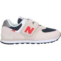Παπούτσια Παιδί Χαμηλά Sneakers New Balance NBPV574SJ2 Μπεζ