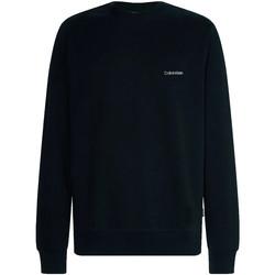 Υφασμάτινα Άνδρας Φούτερ Calvin Klein Jeans K10K107031 Μαύρος
