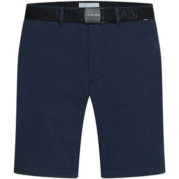 Υφασμάτινα Άνδρας Σόρτς / Βερμούδες Calvin Klein Jeans K10K107164 Μπλε