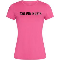 Υφασμάτινα Γυναίκα T-shirt με κοντά μανίκια Calvin Klein Jeans 00GWF0K168 Ροζ